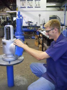 Relief Valve Inspection Testing