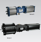 Ductile Iron Quarter-turn Spring Return and Double Acting Valve Actuator