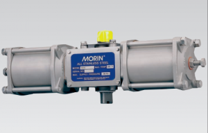 StaiStainless Steel Spring Return and Double Acting Pneumatic Quarter-turn Actuatorsnless Steel Pneumatic Quarter-turn valve Actuators