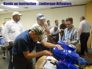 Limitorque actuator training