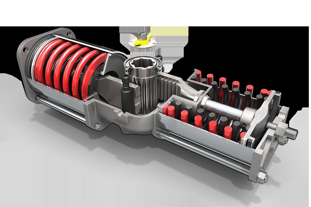Qtrco Q Series Rack Amp Gear 174 Valve Actuators Flotech Inc